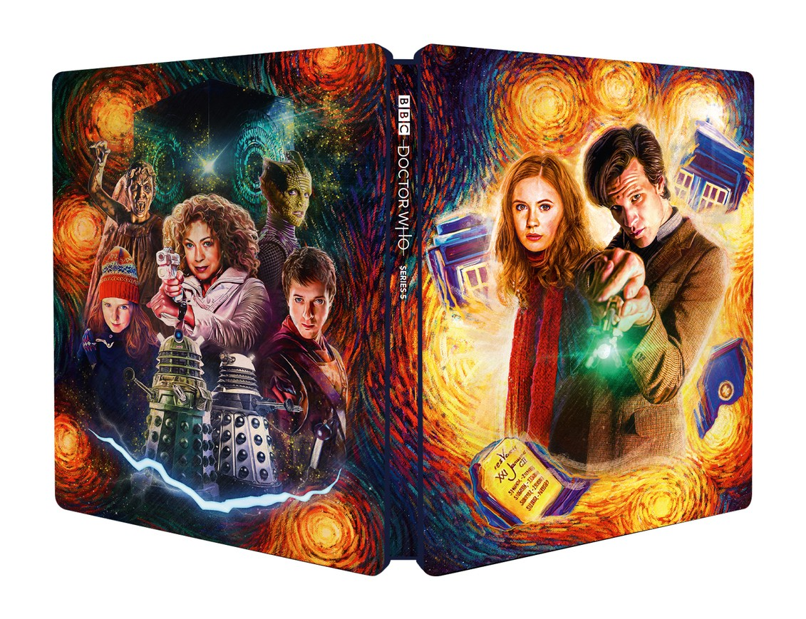 Doctor Who series 5 steelbook