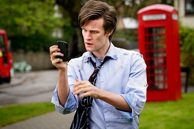 Matt Smith in Doctor Who series 5