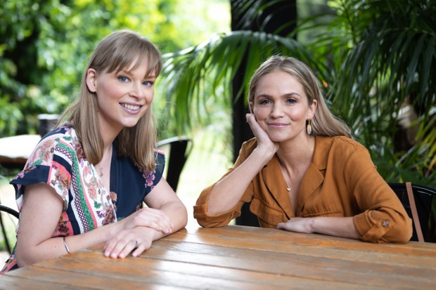 Lana and Sky reunite on Neighbours