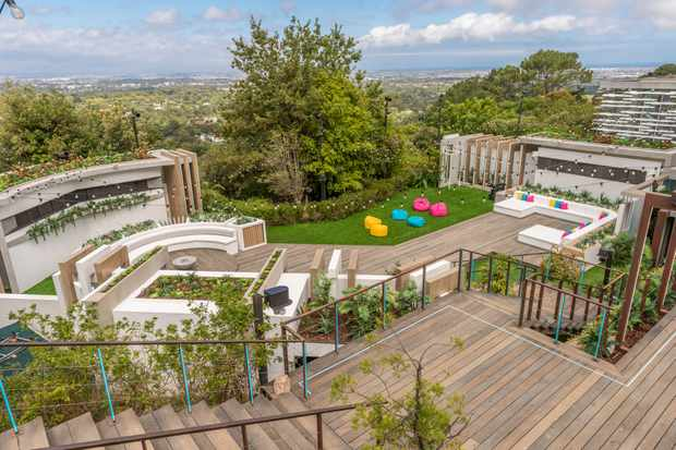 Love Island villa Cape Town (ITV)