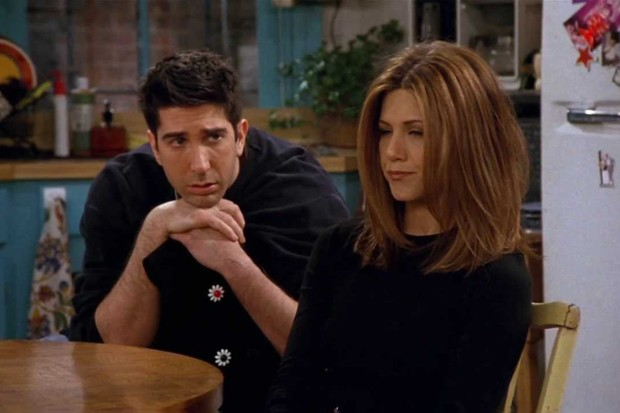 Ross and Rachel break up in Friends