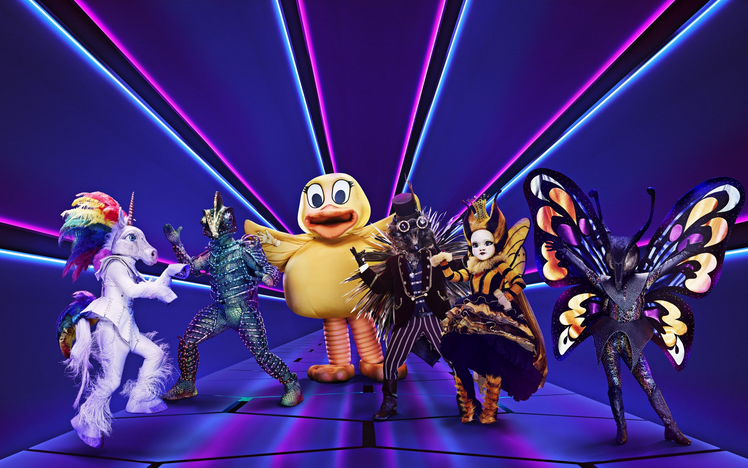 Who makes the costumes on The Masked Singer , interview with