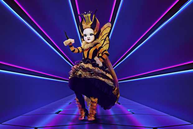 Queen Bee The Masked Singer ©ITV/Bandicoot TV