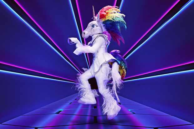 Unicorn The Masked Singer ©ITV/Bandicoot TV
