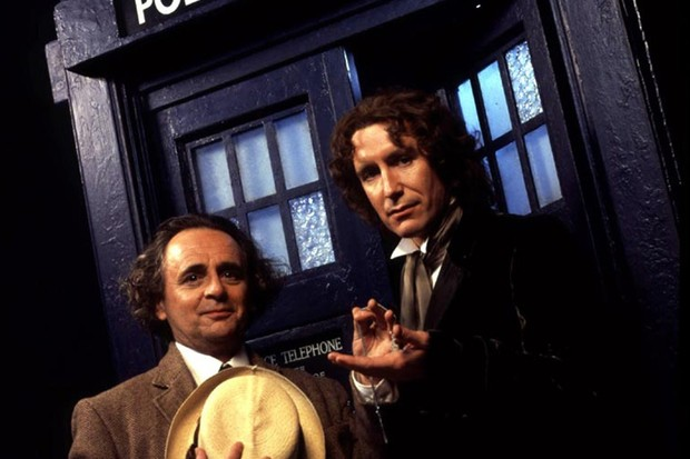 Sylvester McCoy, Paul McGann in the 1996 Doctor Who TV movie