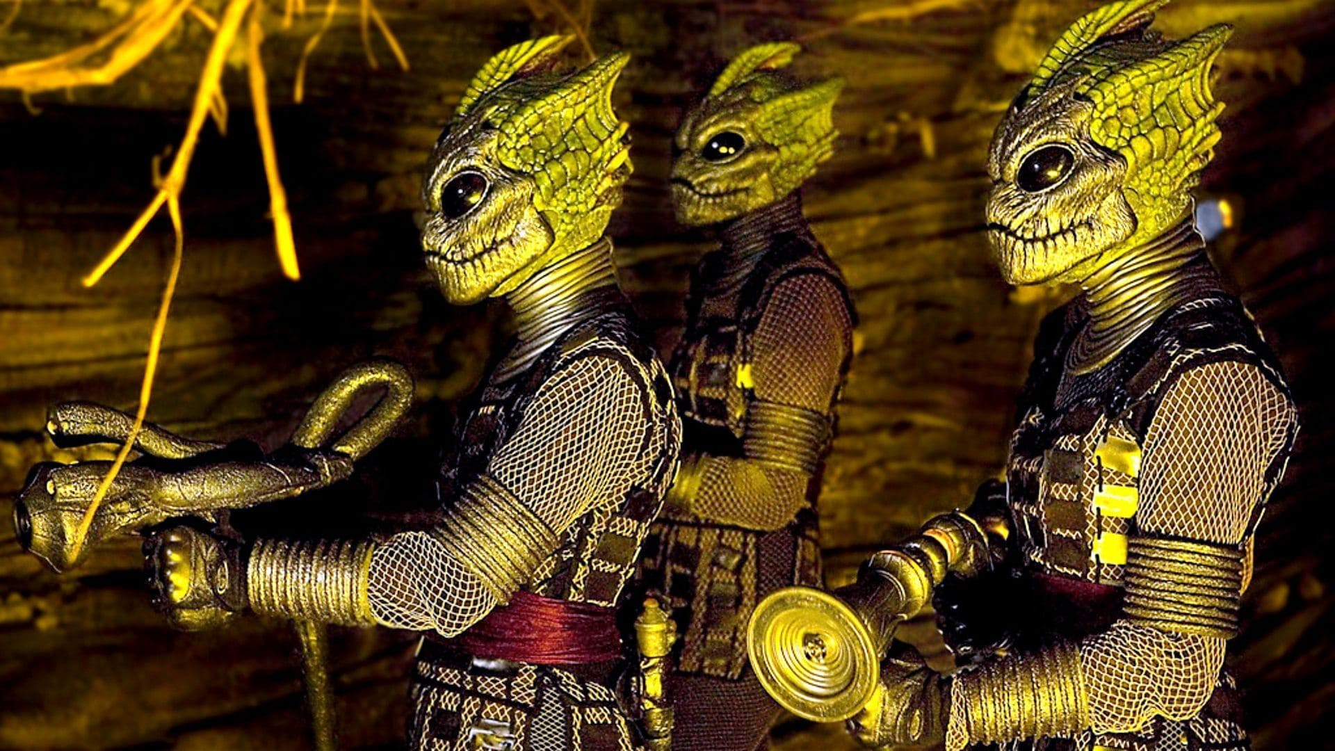 The Silurians in Doctor Who (BBC)