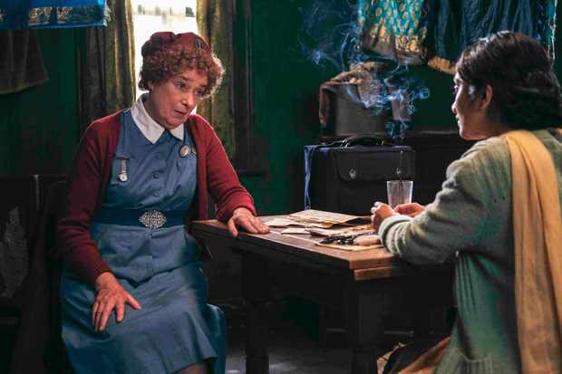 Linda Bassett in Call the Midwife
