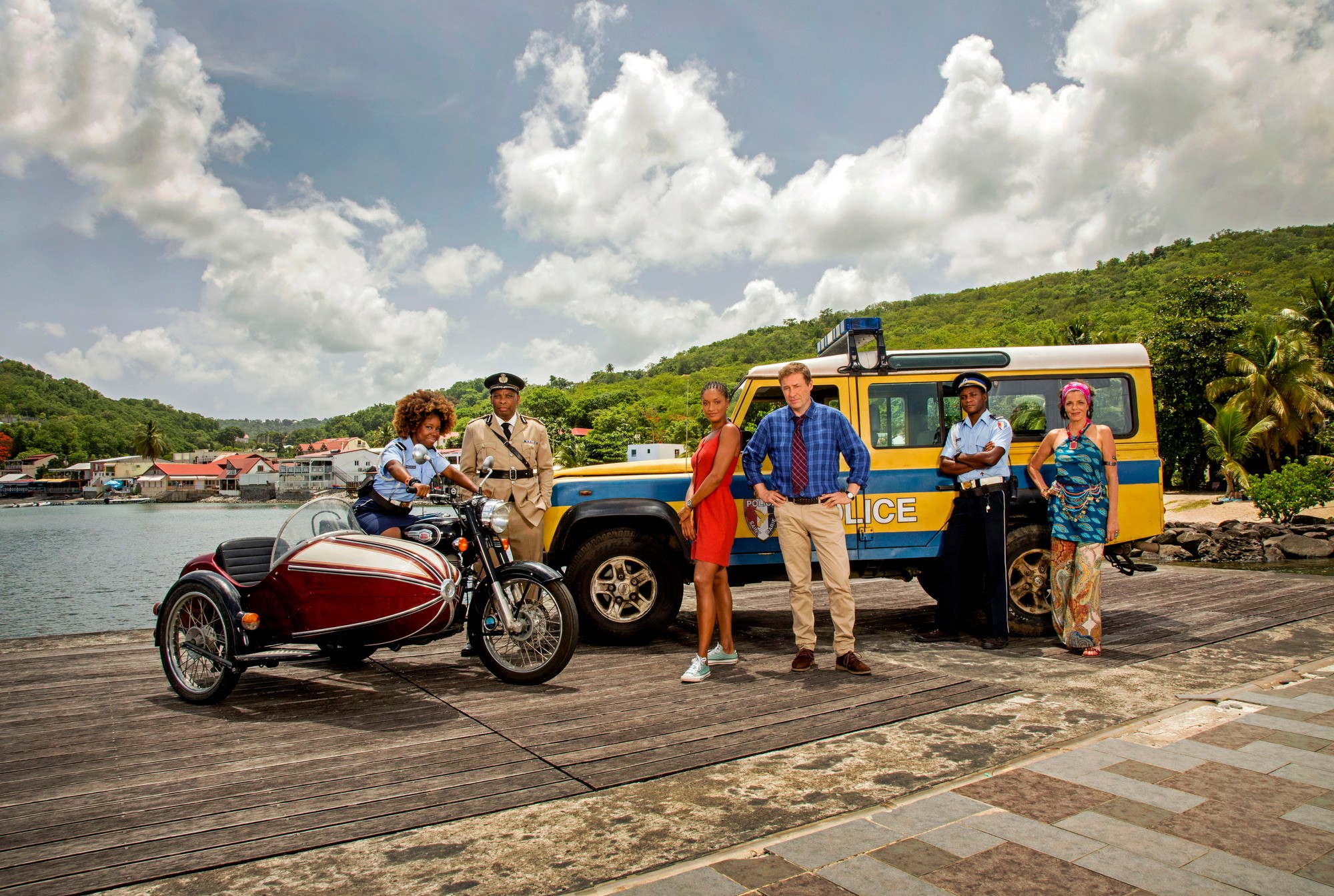 Death in Paradise series 9 cast