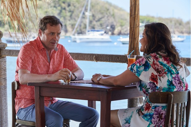 Jack and Anna in Death in Paradise