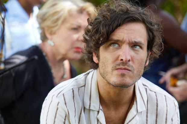 Alexander Vlahos plays Max in Death in Paradise