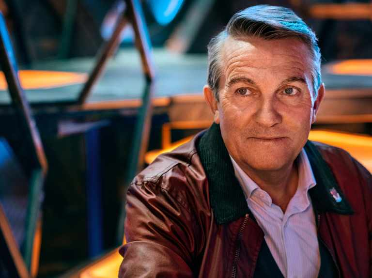 Bradley Walsh made a pretty major faux pas filming a Doctor Who episode