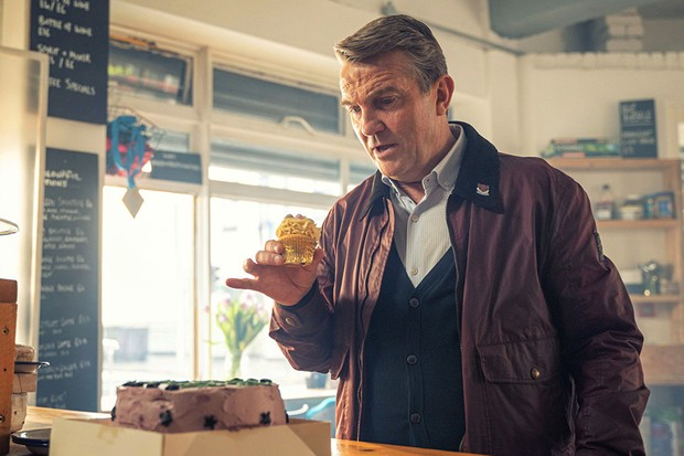 Bradley Walsh as Graham in Doctor Who: Fugitive of the Judoon (BBC)
