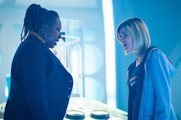 Jo Martin and Jodie Whittaker in Doctor Who (BBC)