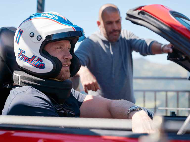 """Top Gear hosts say """"fearless"""" Freddie Flintoff's latest stunt was """"potentially life-threatening"""""""