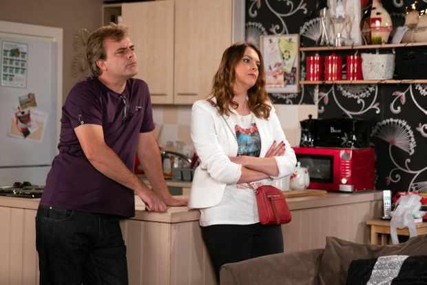 coronation street steve and tracy