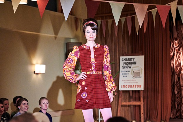Call the Midwife fashion show
