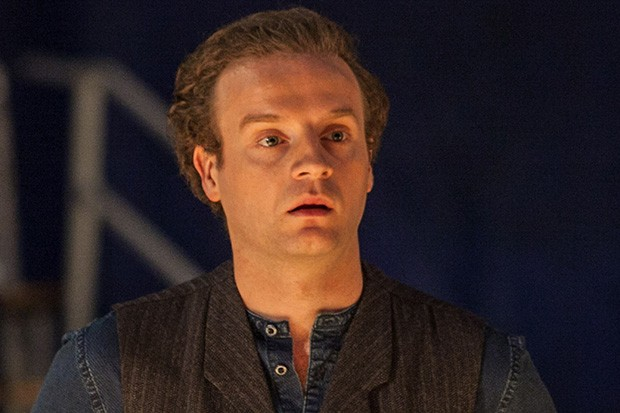 MIDSOMER MURDERS SEND IN THE CLOWNS Pictured: ANDREW GOWER as Harry Ferabbee. This image is the copyright of ITV and may only be used in relation to MIDSOMER MURDERS.