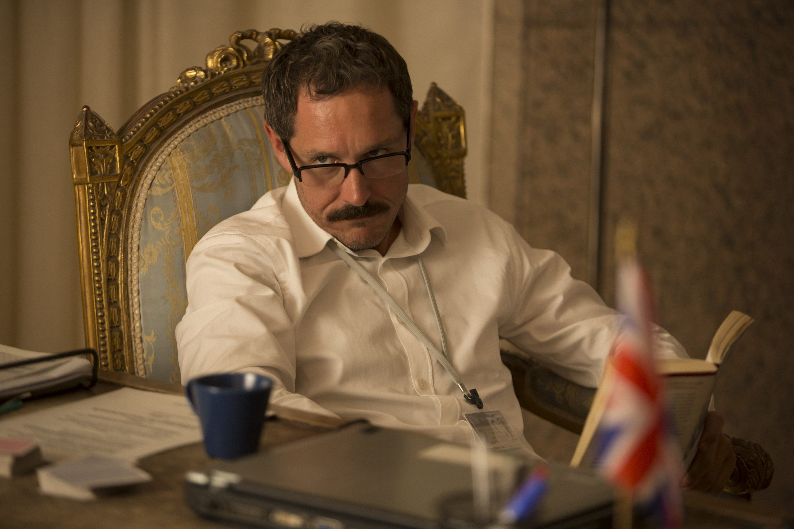 Baghdad Central - Bertie Carvel stars as Frank Temple