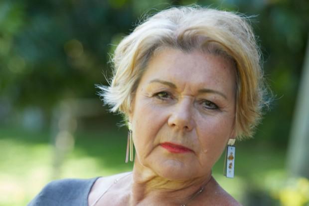Barbara Flynn plays Patti Grenson in Death in Paradise