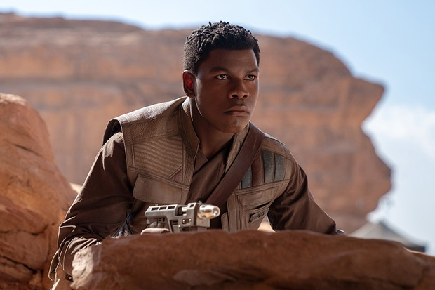 John Boyega stars as Finn in Star Wars: The Rise of Skywalker, directed by JJ Abrams