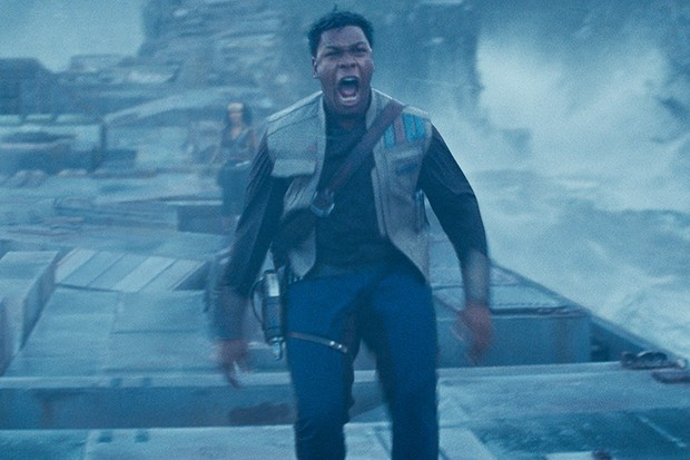 John Boyega is Finn in STAR WARS:  THE RISE OF SKYWALKER