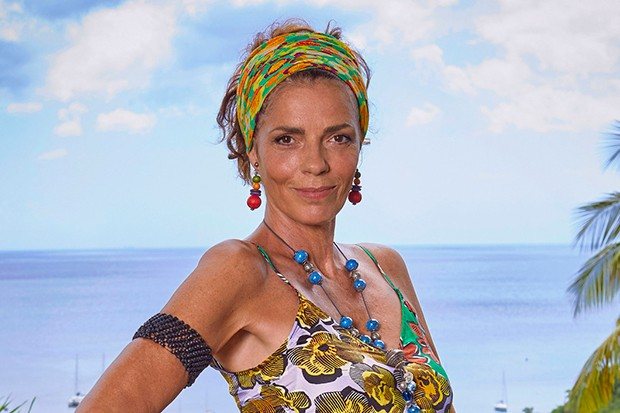 Elizabeth Bourgine plays Catherine in Death in Paradise