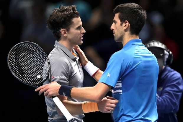 Dominic Thiem Novak Djokovic