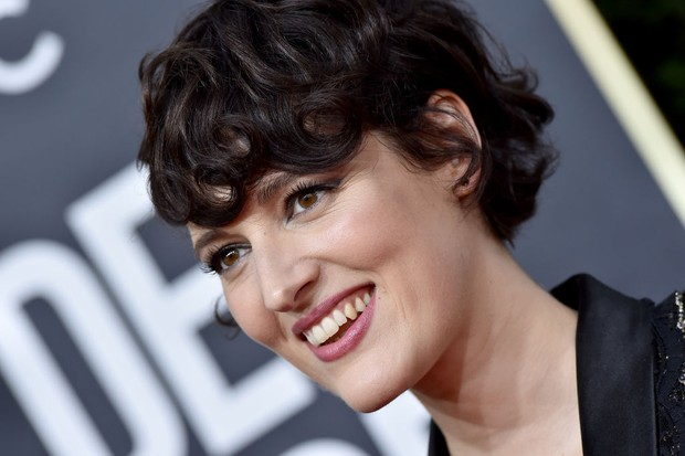 Phoebe Waller-Bridge at the Golden Globes