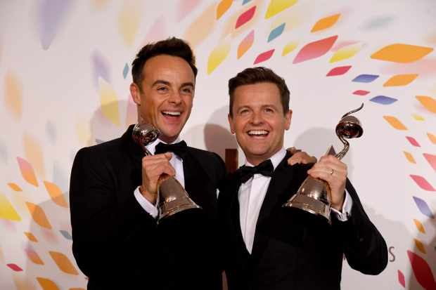 Ant and Dec at 2020 NTAs
