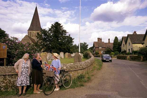 The village of Shere, where filming for Silent Witness took place