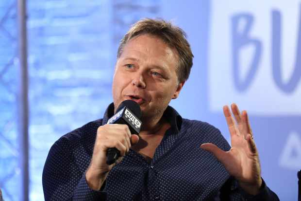 LONDON, ENGLAND - OCTOBER 20:  Actor Shaun Dooley from BBC Drama 'Gunpowder' during a panel discussion at BUILD London on October 20, 2017 in London, England.  (Photo by Tim P. Whitby/Tim P. Whitby/Getty Images)
