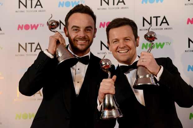 Ant and Dec win NTAs
