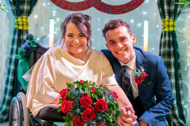 hollyoaks week 4 courtney jesse wedding