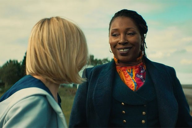 Jodie Whittaker and Jo Martin in Doctor Who