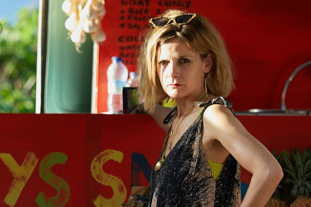 Louise Brealey plays Donna Harman in Death in Paradise