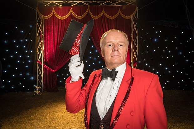 MIDSOMER MURDERS SEND IN THE CLOWNS Pictured: JASON WATKINS as Joe Ferabbee. This image is the copyright of ITV and may only be used in relation to MIDSOMER MURDERS.