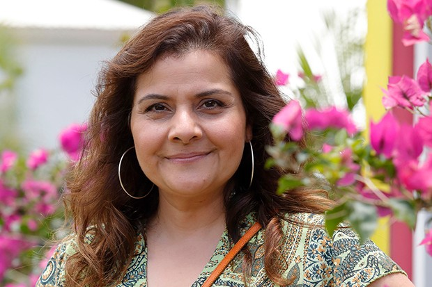 Nina Wadia plays Anna Houghton in Death in Paradise