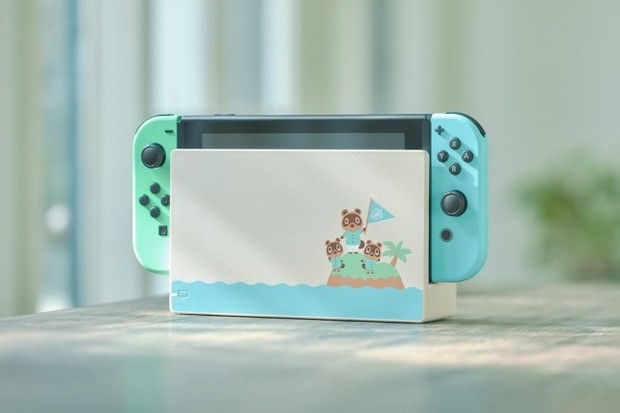 Nintendo Switch Animal Crossing console