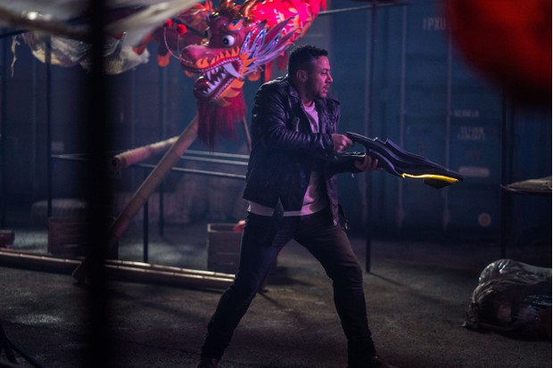 Warren Brown as Jake Willis - Doctor Who _ Season 12, Episode 6 - Photo Credit: James Pardon/BBC Studios/BBC America