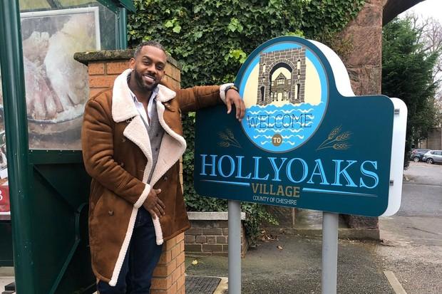 Richard Blackwood, Hollyoaks