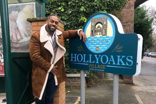Richard Blackwood, Hollyoaks