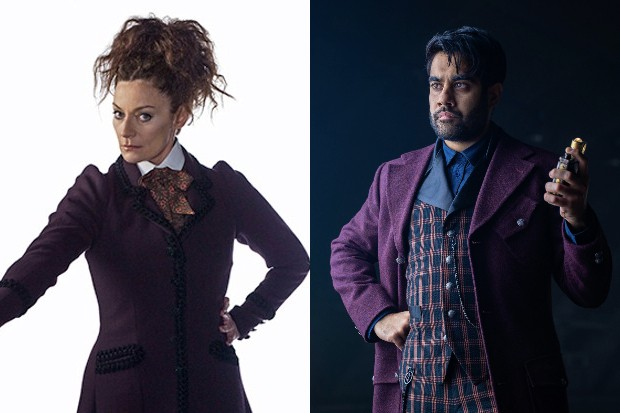 Michelle Gomez as Missy and Sacha Dhawan as the Master (BBC)