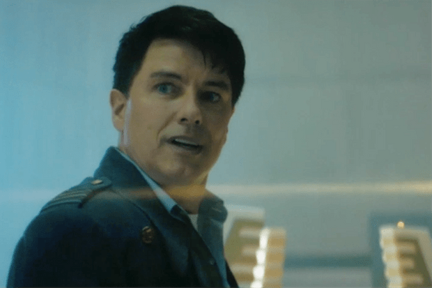 John Barrowman as Captain Jack Harkness in Doctor Who (BBC)