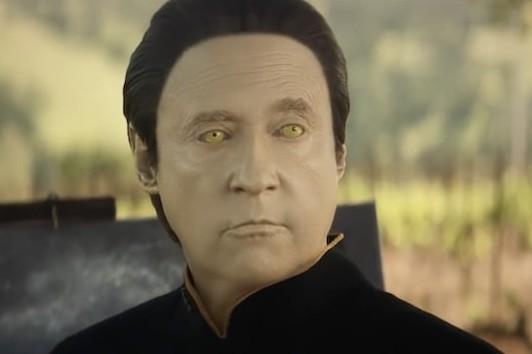Brent Spiner as Data in Star Trek: Picard (Amazon)