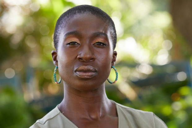 Vivenne Acheampong plays Sandrine Lamore in Death in Paradise