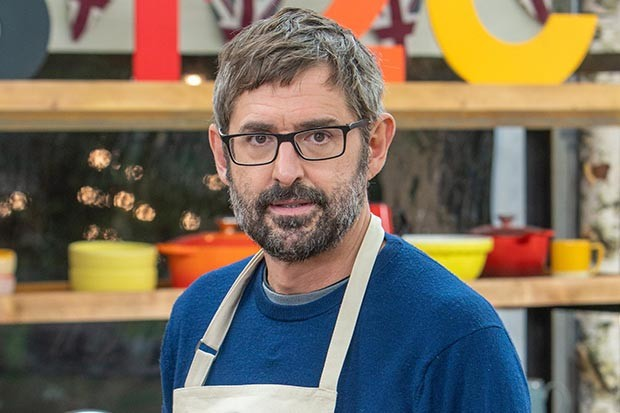 Celebrity Bake Off Louis Theroux