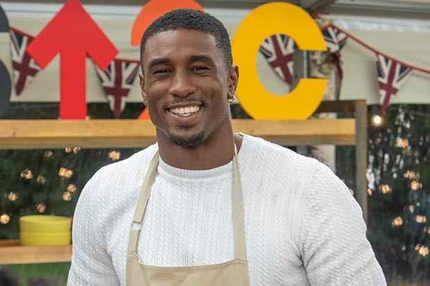 Celebrity Bake Off Ovie Soko
