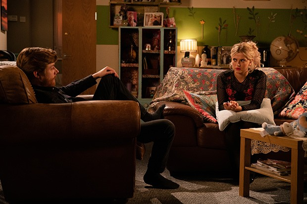 FROM ITV  STRICT EMBARGO  - No Use Before Tuesday 14th January 2020  Coronation Street - Ep 9989  Friday 24th January 2020 - 2nd Ep  Daniel Osbourne [ROB MALLARD] urges Bethany Platt [LUCY FALLON] to spread her wings and apply for a place on a creative writing course. As he helps her with her application, Daniel notices that Bertie doesn't seem himself and panicking he takes his temperature.   Picture contact - David.crook@itv.com  Photographer - Danielle Baguley  This photograph is (C) ITV Plc and can only be reproduced for editorial purposes directly in connection with the programme or event mentioned above, or ITV plc. Once made available by ITV plc Picture Desk, this photograph can be reproduced once only up until the transmission [TX] date and no reproduction fee will be charged. Any subsequent usage may incur a fee. This photograph must not be manipulated [excluding basic cropping] in a manner which alters the visual appearance of the person photographed deemed detrimental or inappropriate by ITV plc Picture Desk. This photograph must not be syndicated to any other company, publication or website, or permanently archived, without the express written permission of ITV Picture Desk. Full Terms and conditions are available on  www.itv.com/presscentre/itvpictures/terms