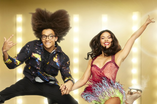 Dancing on Ice - Perri Kiely and Vanessa Bauer