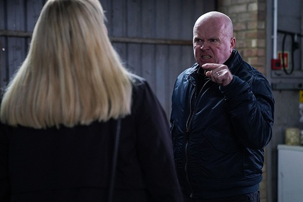WARNING: Embargoed for publication until 00:00:01 on 14/01/2020 - Programme Name: EastEnders - January - March 2020 - TX: 23/01/2020 - Episode: EastEnders - January - March - 2020 - 6067 (No. 6067) - Picture Shows: *NOT FOR USE PRE-TX WITHOUT PRIOR APPROVAL* Phil Mitchell (STEVE MCFADDEN) - (C) BBC - Photographer: Kieron McCarron